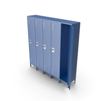 School Lockers PNG & PSD Images