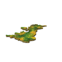 United Kingdom Detailed Country Map PNG & PSD Images
