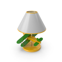 Airplane Lamp PNG & PSD Images