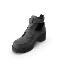 Women's Sandals Black PNG & PSD Images