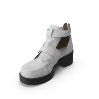 Women's Sandals White PNG & PSD Images