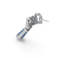 RoboHand Holding a Key PNG & PSD Images