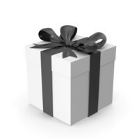 Giftbox Black PNG & PSD Images