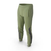 Men's Sport Pants Green PNG & PSD Images