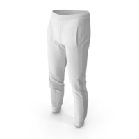 Mens Sport Pants White PNG & PSD Images