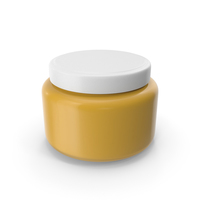 Jar With Yellow Souce PNG & PSD Images