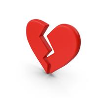 Broken Heart Emoji PNG & PSD Images