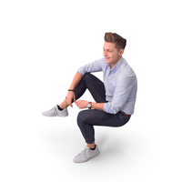 Teen Sitting PNG & PSD Images