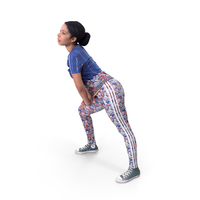 Sports Woman Stretching PNG & PSD Images