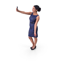 Woman Taking Selfie PNG & PSD Images