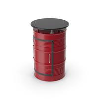 Barrel Table Close PNG & PSD Images