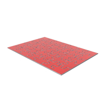 Jigsaw Puzzle 5x7 Metal Red Painted PNG & PSD Images
