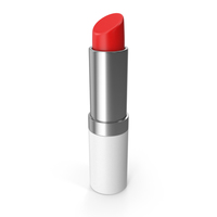 White Lipstick Opened PNG & PSD Images
