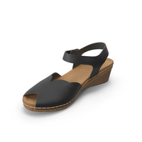 Womens Shoes Black PNG & PSD Images