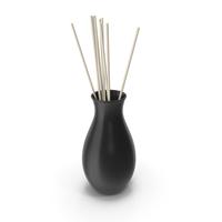 Decorative Vase Black PNG & PSD Images