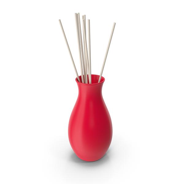 Decorative Vase Red PNG & PSD Images