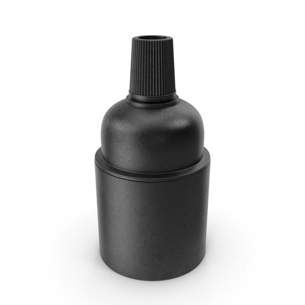 Lamp Socket Black PNG & PSD Images