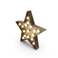 Star Lighting Bronze On PNG & PSD Images