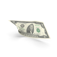 2 Dollar Banknote Bill PNG & PSD Images