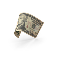 10 Dollar Banknote Bill PNG & PSD Images