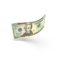 20 Dollar Banknote Bill PNG & PSD Images