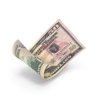 50 Dollar Banknote Bill PNG & PSD Images
