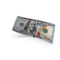 100 Dollar Banknote Bill PNG & PSD Images