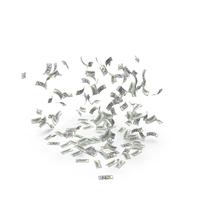 Falling Dollar Bills PNG & PSD Images