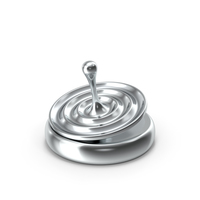 Spinning Top on a Concave Base PNG & PSD Images