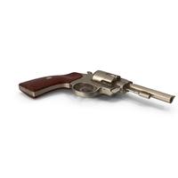 Bronze Revolver PNG & PSD Images
