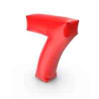 Balloon Number 7 PNG & PSD Images