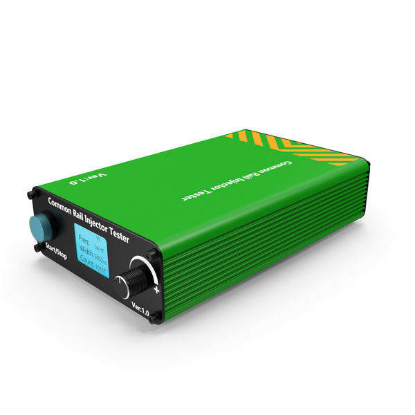 Car Injector Tester Green PNG & PSD Images
