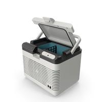 Portable Car Refrigerator PNG & PSD Images