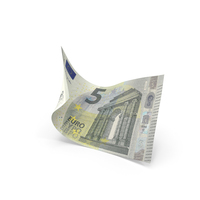 5 Euro Banknote Bill PNG & PSD Images