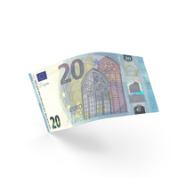 20 Euro Banknote Bill PNG & PSD Images