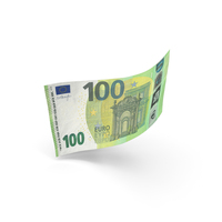 100 Euro Banknote Bill PNG & PSD Images