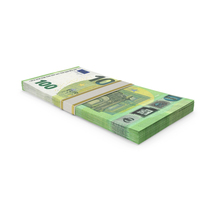 100 Euro Stack PNG & PSD Images