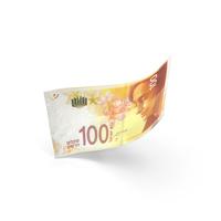 100 Israeli Shekel Banknote Bill PNG & PSD Images