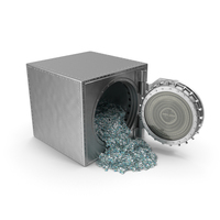 Vault with Israeli Shekel Stacks PNG & PSD Images