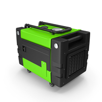 Portable Generator Green PNG & PSD Images
