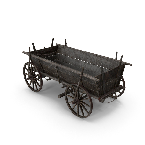 Wooden Cart PNG & PSD Images