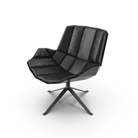Martini Chair by Mueller - Black PNG & PSD Images
