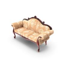Louis XV Sofa PNG & PSD Images