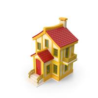 Cartoon House PNG & PSD Images
