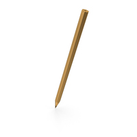 Golden Pencil PNG & PSD Images