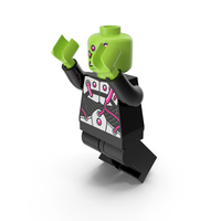 Lego Brainiac Jumping PNG & PSD Images