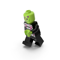 Lego Brainiac Running PNG & PSD Images