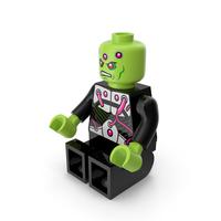 Lego Brainiac Sitting PNG & PSD Images