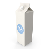 Milk Box PNG & PSD Images