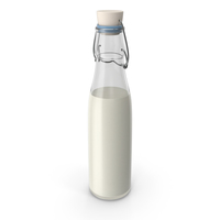 Milk Bottle No Label PNG & PSD Images